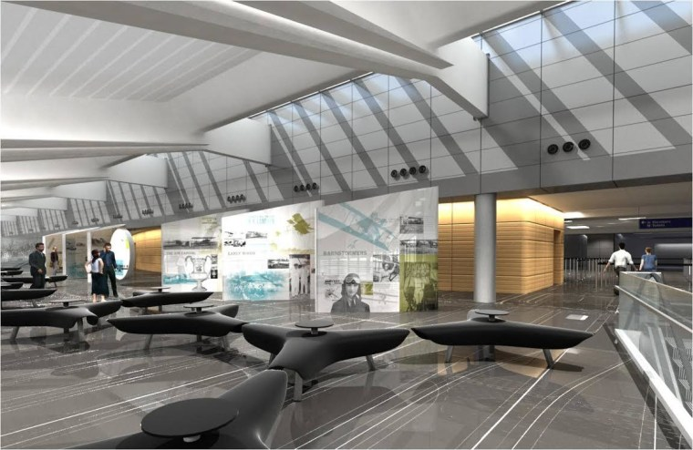 Image: new terminal being built at Wichita airport