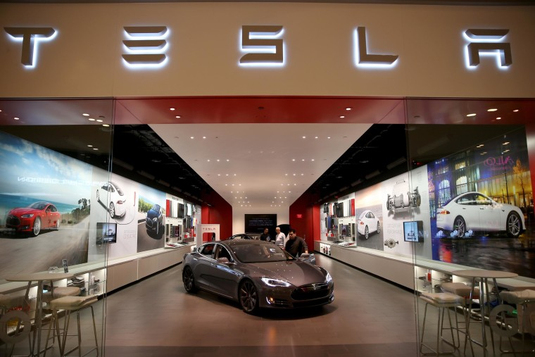 NJ joins Texas and Arizona in banning Tesla from selling electric cars directly to customers.