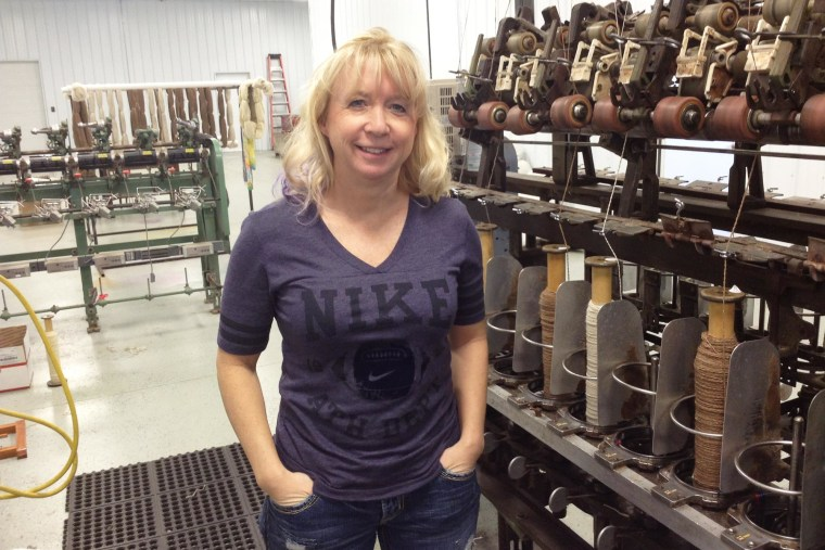 Seeing a need for domestically produced wool yarn, entrepreneur Stephenie Anderson has opened a new wool mill in Minnesota. Northern Woolen Mills processes about 100 pounds of finished yarn a day.