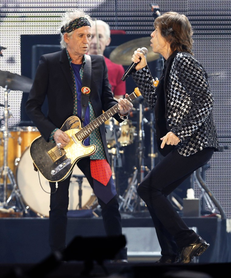 Image: Mick Jagger, Keith Richards