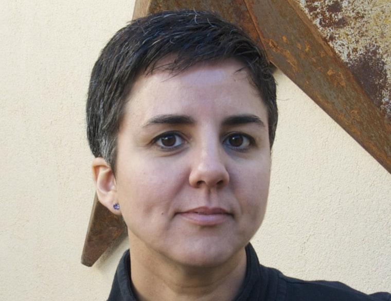 Latina poet, essayist and professor Carmen Gimenez Smith.