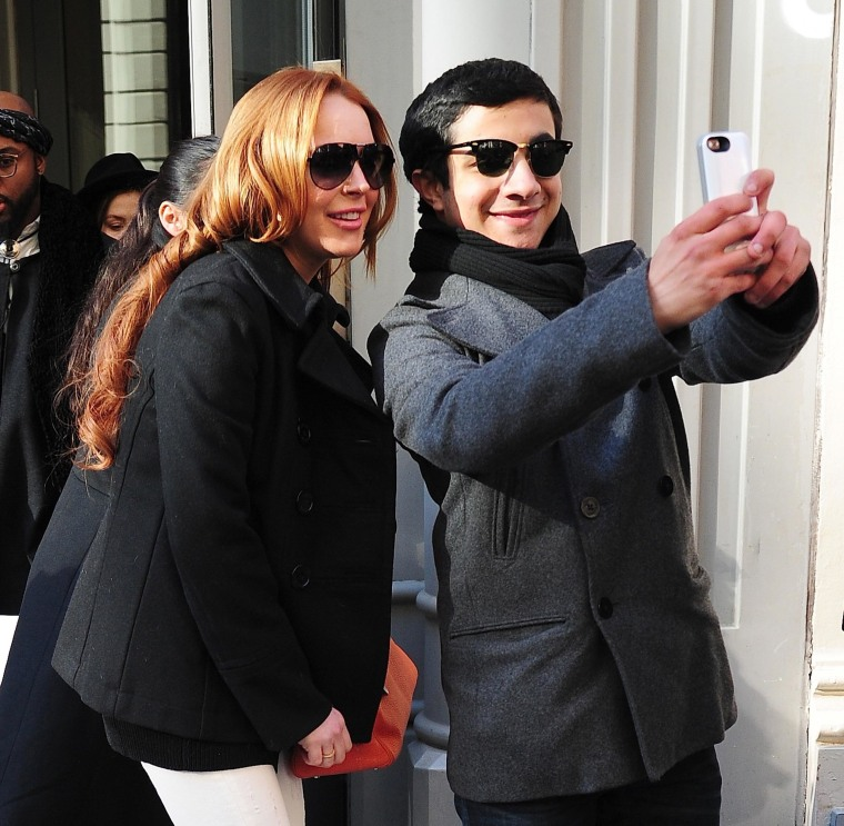Lindsey Lohan Celebrity Sightings In New York City - March 06, 2014