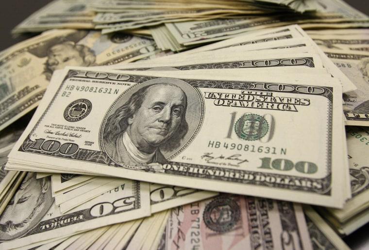 Image: U.S. dollar bills