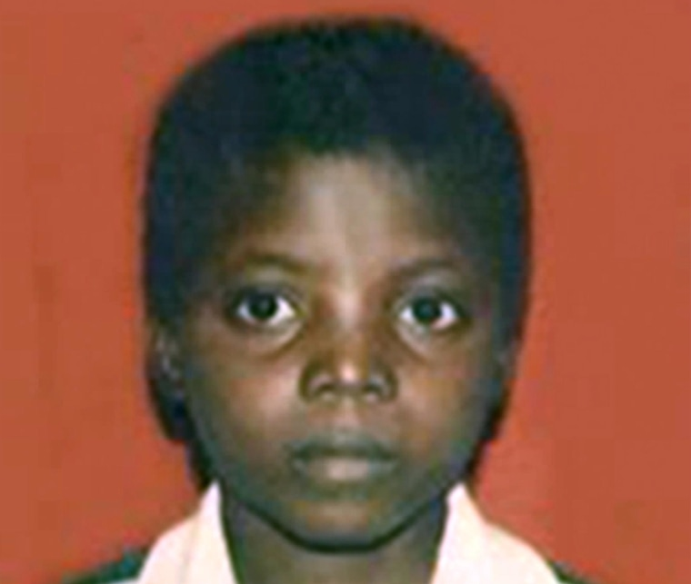 Image: Saye-Maye Cole as a young boy in Liberia