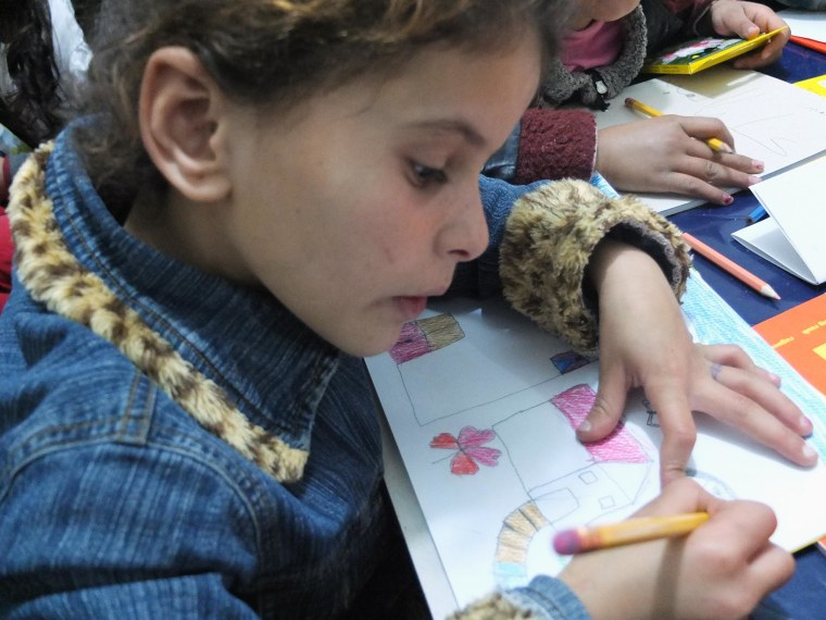 Image: Nena, 6, from Homs.