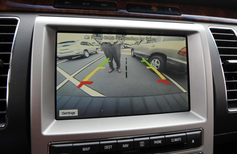 Image: Back up camera