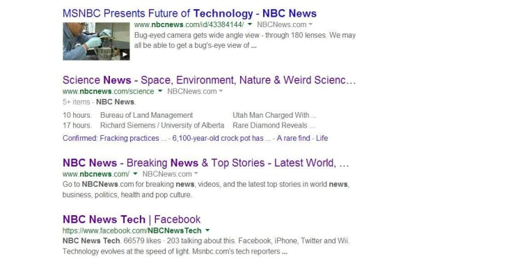 Google Search Redesign