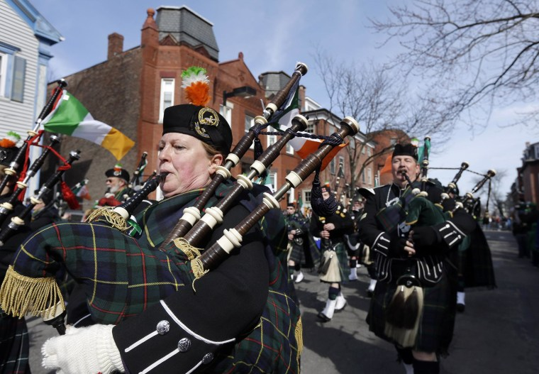 Image: File photo from 2013 St. Patrick's Day Parade in Boston