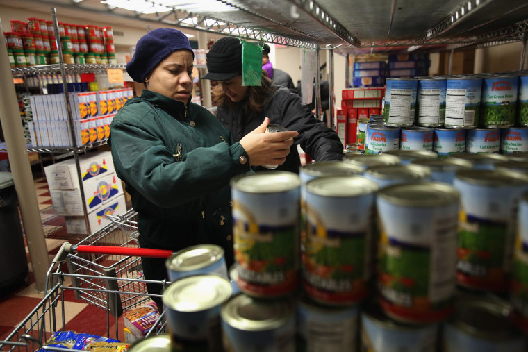 Image: Food bank in New York City