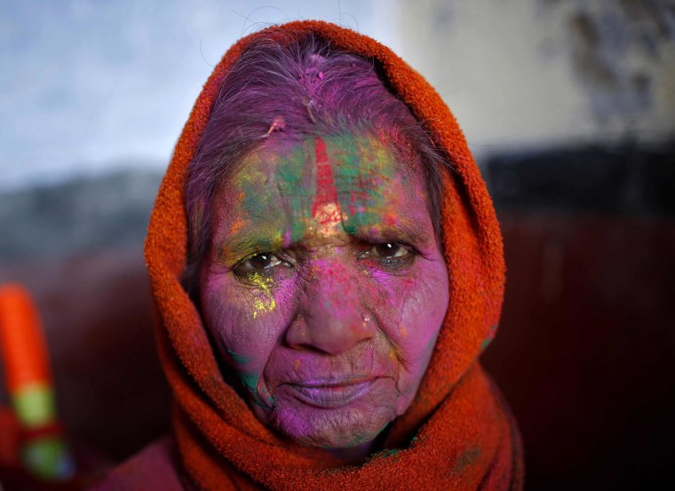 Breaking Tradition: Widows Celebrate Holi Festival in India