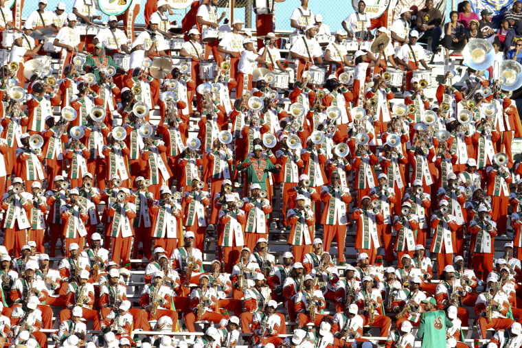 Image: Florida A&M Marching 100 Band;