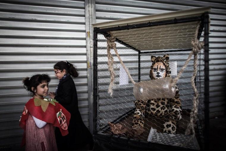 Image: Purim in Bnei Brak