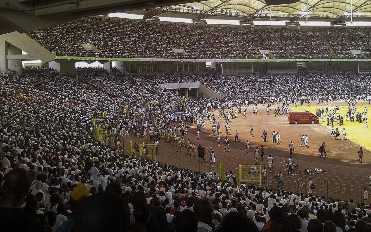 Image: Job seekers stampede in Nigeria