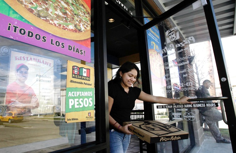 Pizza Restaurant Stirs Controversy By Accepting Mexican Pesos