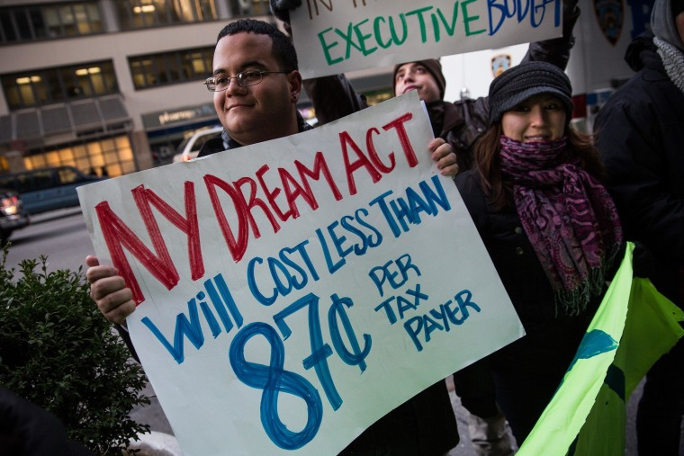 Image: Immigration Activists Protest For Expansion Of DREAM Act Legislation
