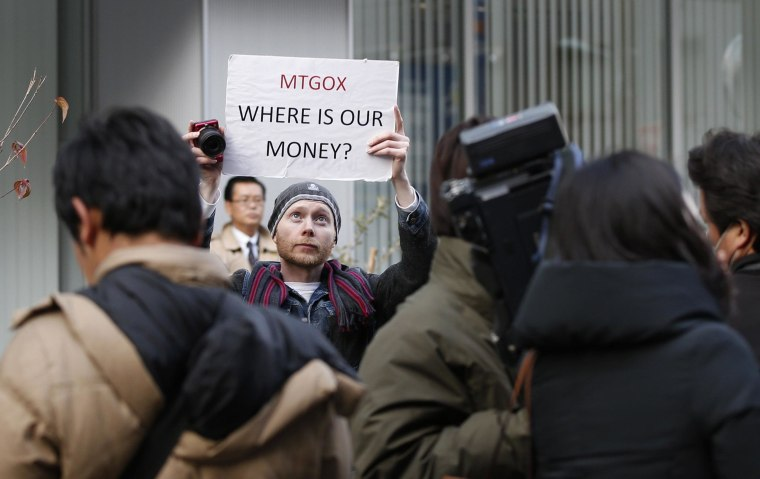 Mt. Gox is letting customers back in to check their balances after it said last month it may have lost 850,000 bitcoins to hackers.