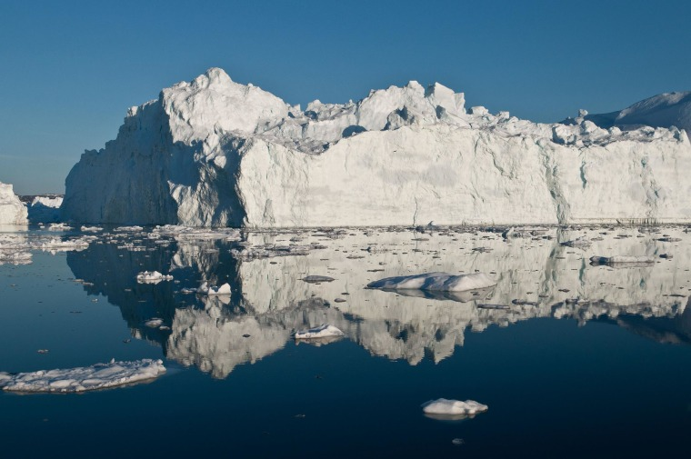 Polar ice sheets are now melting three times faster than in the 1990s. While the amount of sea level rise isn't as bad as some earlier worst case scenarios, the acceleration of the melting, especially in Greenland, has ice scientists worried.