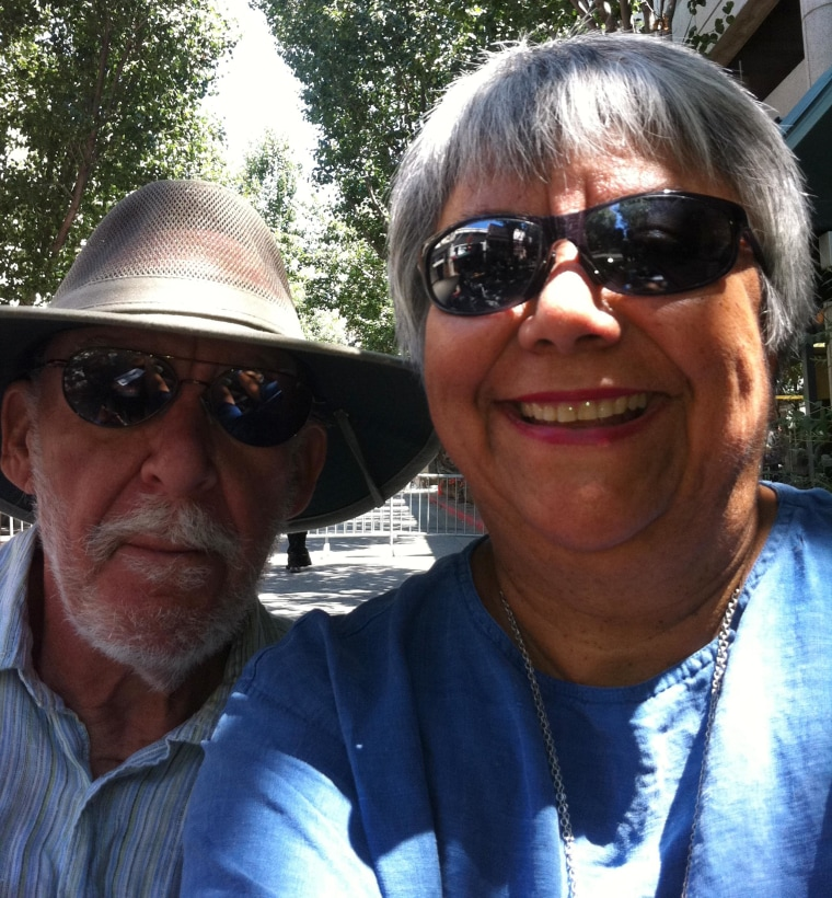 Image: John Wallace and Angie Carrillo