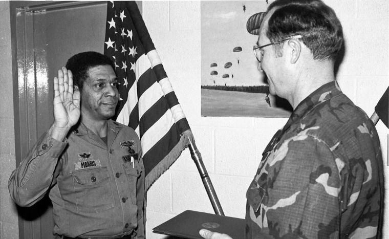 Sgt. First Class Melvin Morris