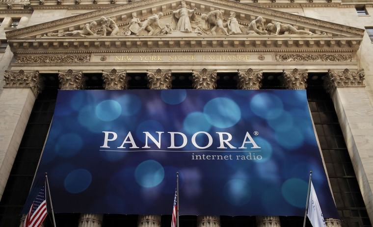 Image: A banner for Pandora