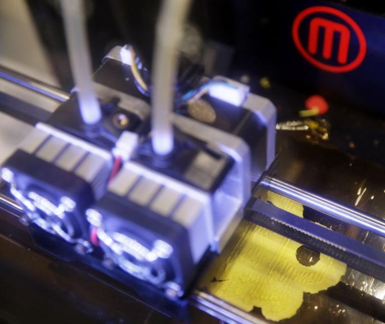 Image: 3-D printer