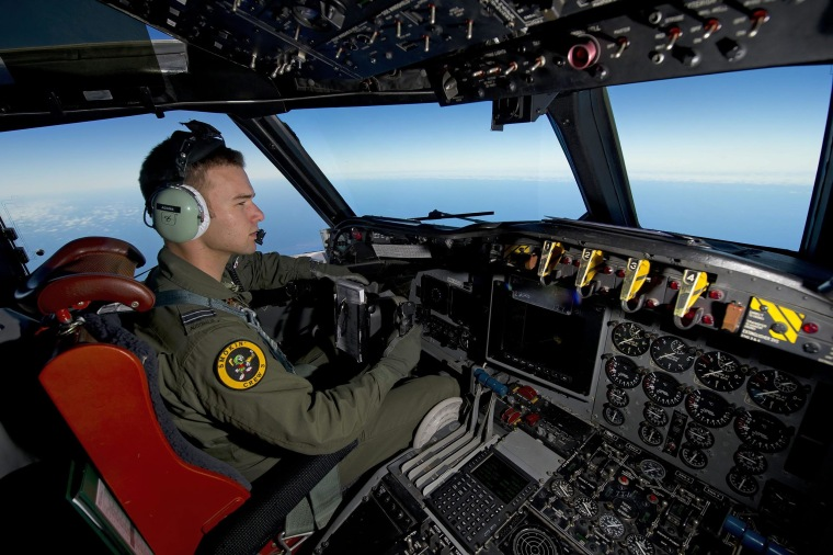 Image: Royal Australian Air Force search of missing Malaysian Airlines Flight MH370