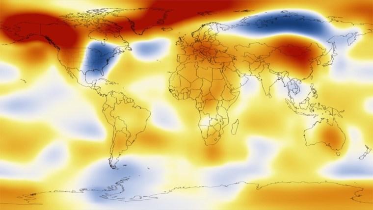Image: Temperature anomalies