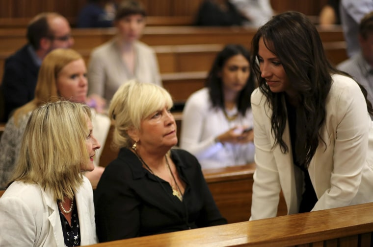 Sibling Solidarity: Pistorius Turns to Younger Sister for Solace