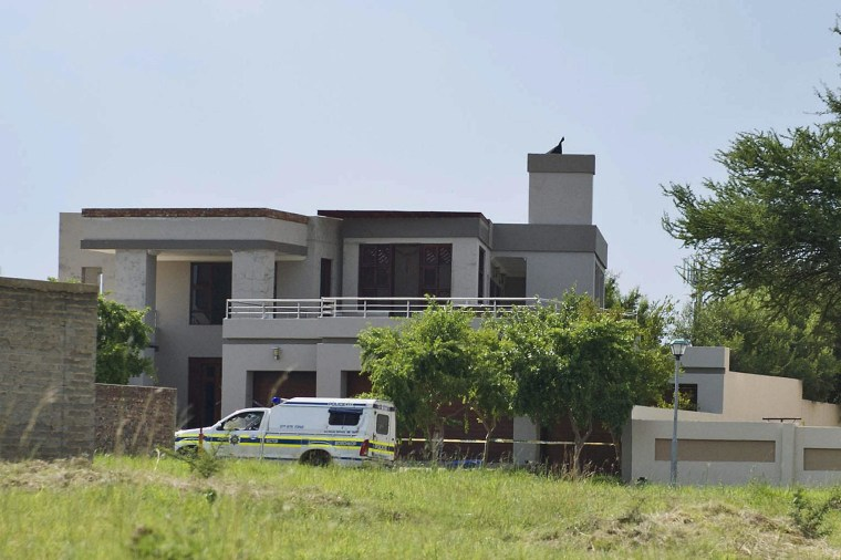 Oscar Pistorius's house at SilverWoods Country Estate.