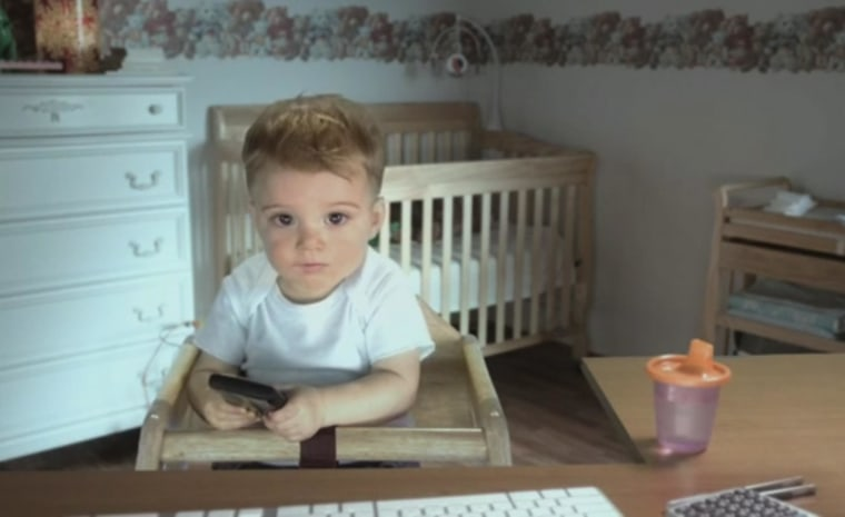Image: The E*Trade baby announces his retirement