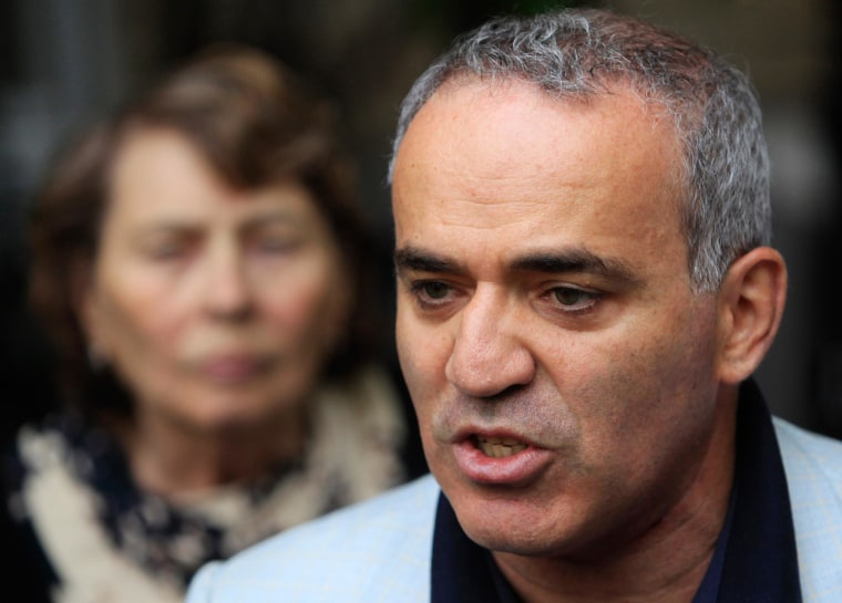 Image: Garry Kasparov in 2012