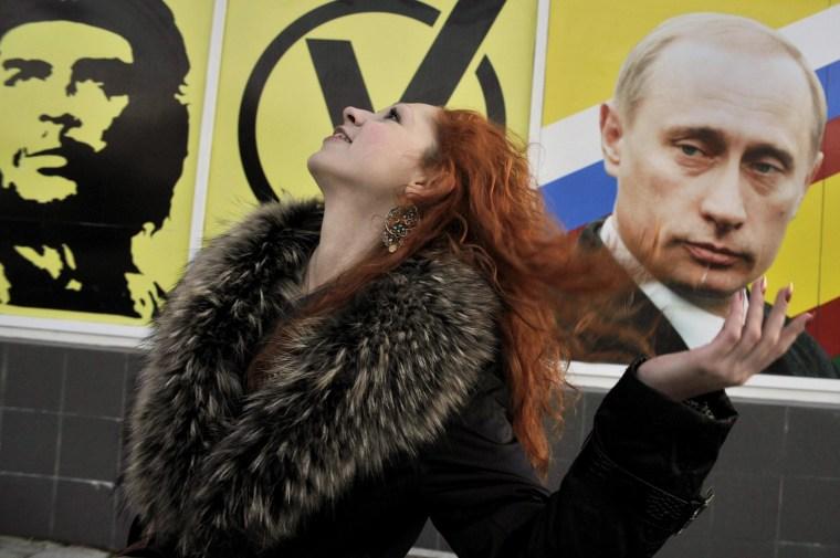 Image: Woman in Tiraspol, Trans-Dniester