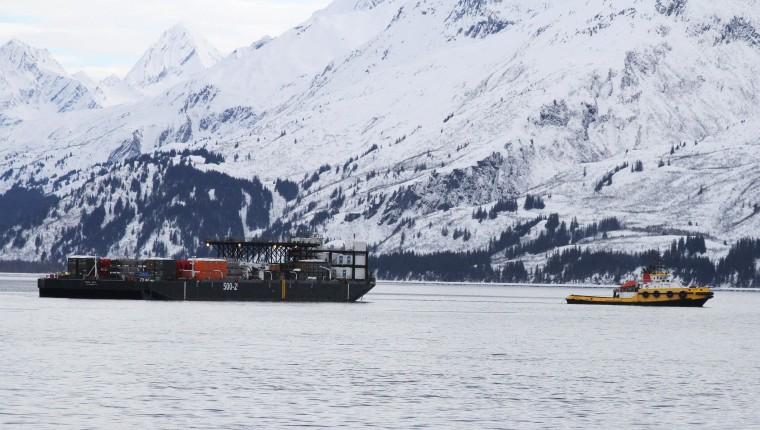 Image: Oil response drill