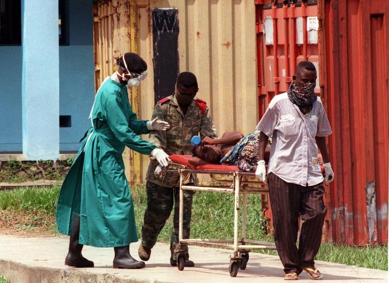 Image: GUINEA-HEALTH-DISEASE-EBOLA-FILES
