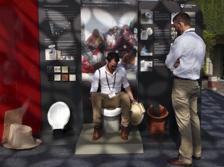 Reinvent The Toilet Fair in New Delhi,