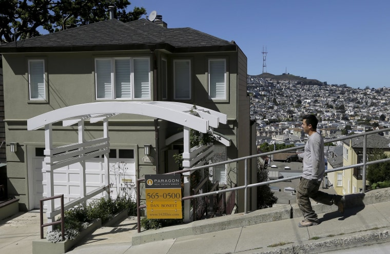 Image: In San Francisco, nearly 44 percent of homes are listed at the $1 million-plus mark, the highest in the United States, according to data from real estate site Trulia.com.
