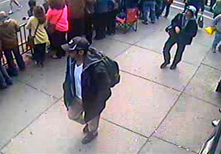 Image: File picture of Boston Marathon bombing suspects Dzhokhar and Tamerlan Tsarnaev