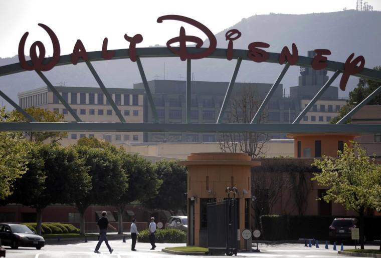 Image: Walt Disney Studios in Burbank, Calif.