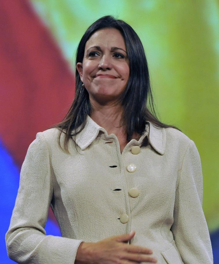 Venezuela Opposition Congresswoman Stripped of Mandate