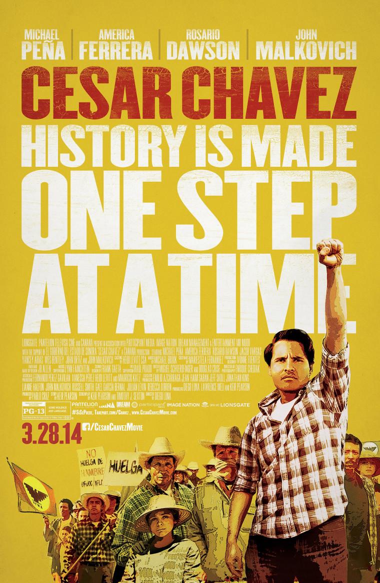 Chavez movie poster