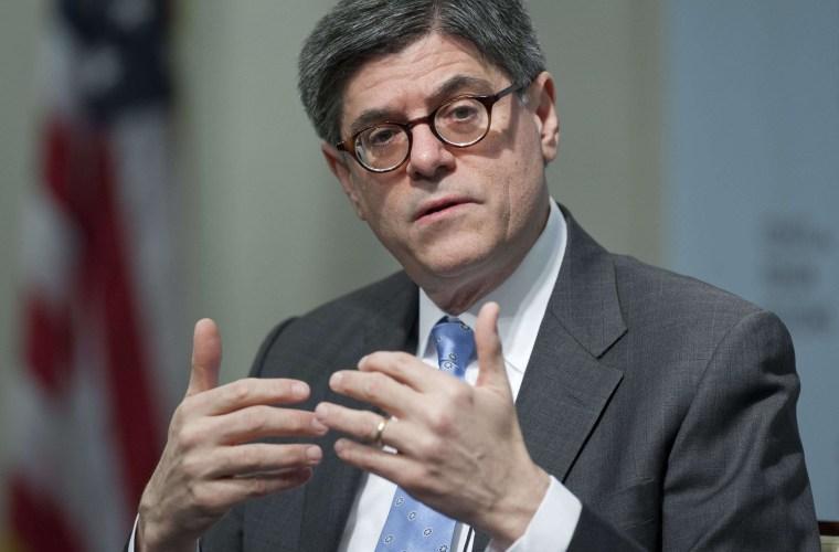 Image: US-ECONOMY-POLITICS-LEW-FILES