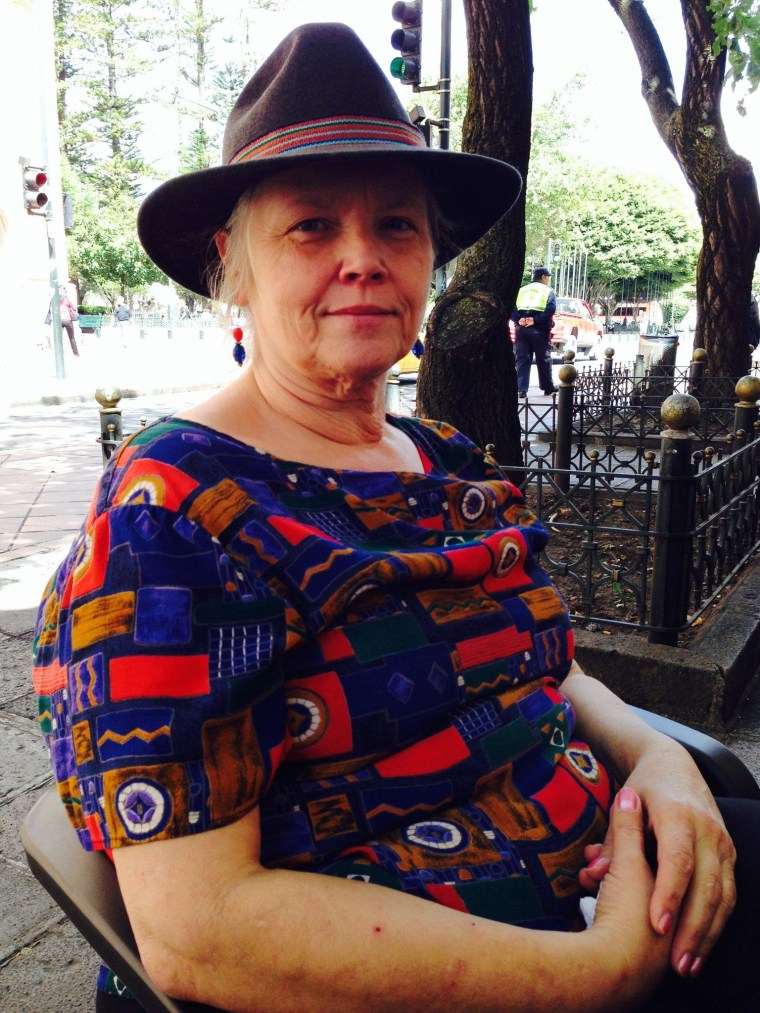 Frances Hogg, a 60-year-old lawyer from Michigan, now calls Cuenca, Ecuador home.
