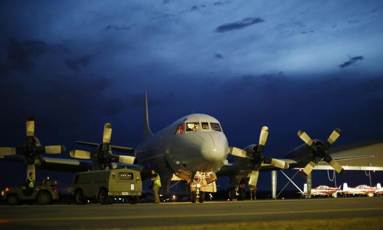 Image: A Royal Australian Air Force AP-3C Orion
