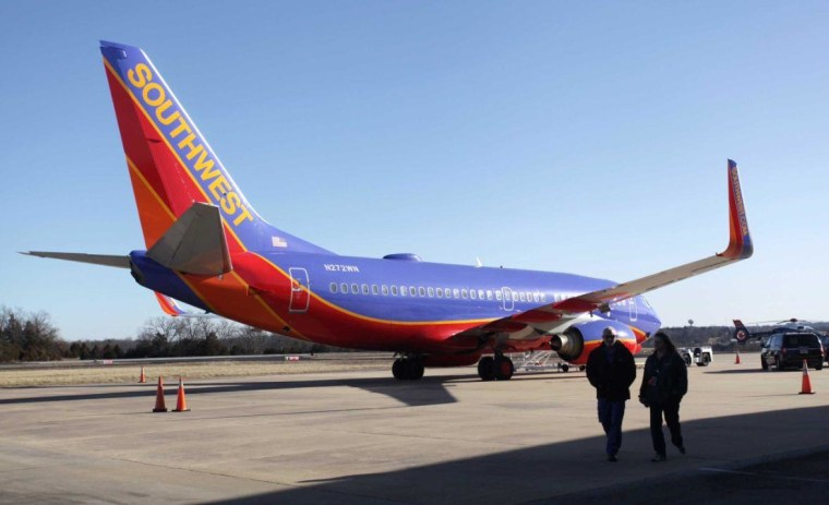 Southwest flight at wrong airport