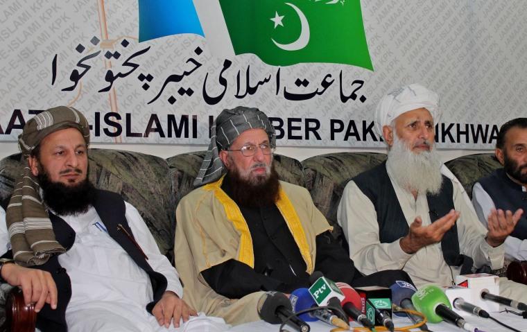 Image: Aftermath of Taliban peace talks