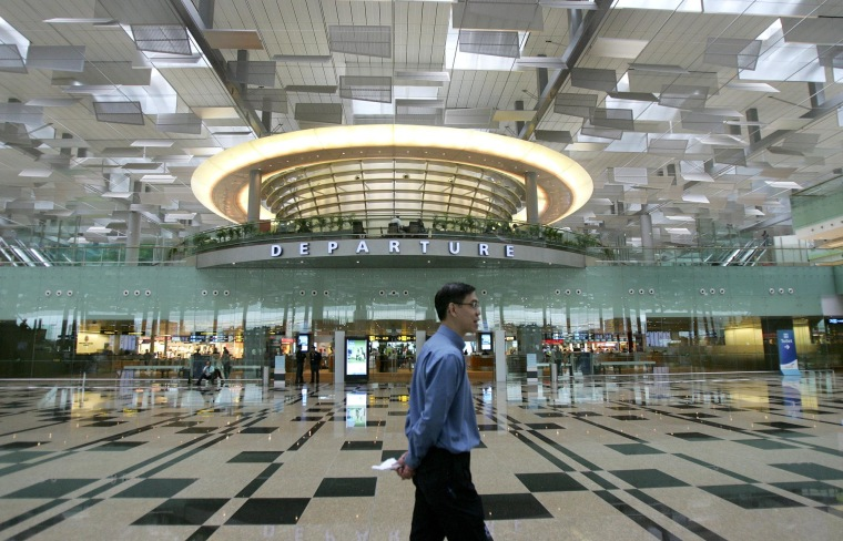 Image: Singapore's Changi Airport