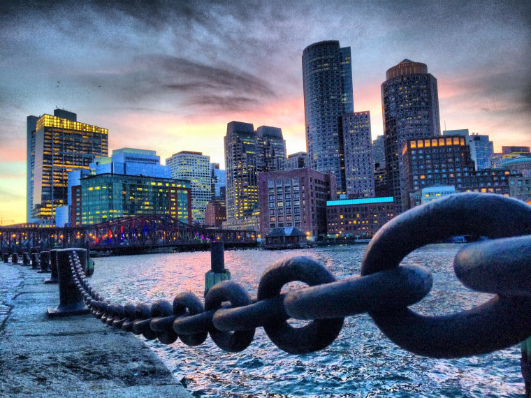 Image: The Boston skyline