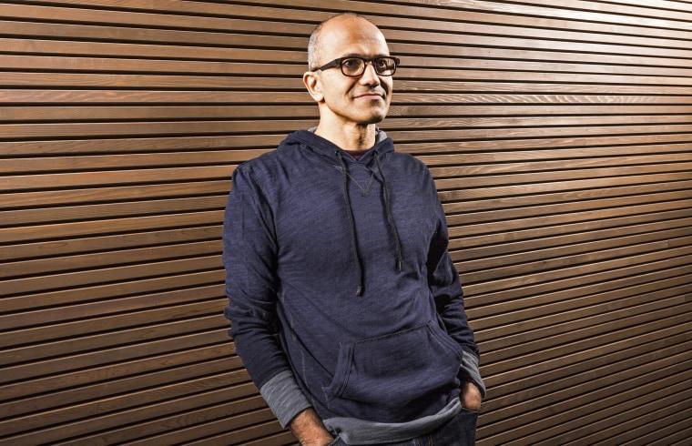 Image: Satya Nadella Named CEO of Microsoft