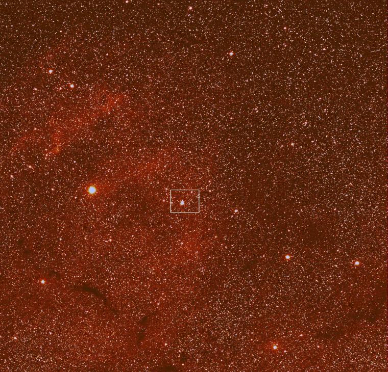 Image: Probe's view of comet