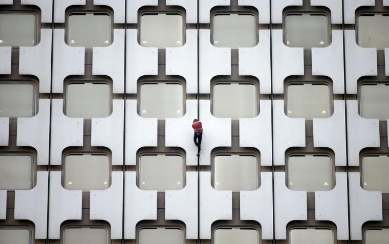 Image: French climber Alain Robert